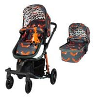 Giggle Quad Everything Bundle Charcoal Mister Fox